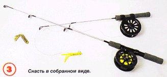 снасть для ловли судака на тюльку