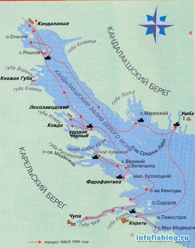 кандалакшский залив ловля трески